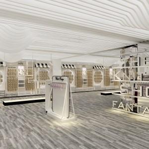 临海电动工具陈列架展柜厂家供应 缝纫机货架展示柜来图定做