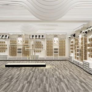 金华针纺布窗帘布展示柜工厂订做 电动工具陈列架展柜来图询价