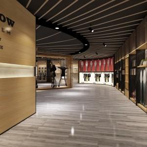 杭州电动工具陈列架展柜工厂订做 缝纫机货架展示柜来图询价