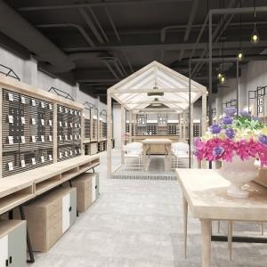 上海烤漆童装展示柜产地直销 化妆品彩妆展柜柜台工厂报价