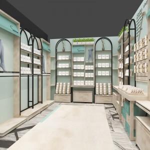 临海服装城女装展示陈列架工厂订做 电动工具陈列架展柜来图定做