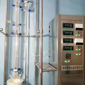 博劢石油化工特种玻璃精馏塔装置
