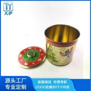 天伊金属茶叶罐批发工厂 茶叶罐定制 马口铁盒厂家