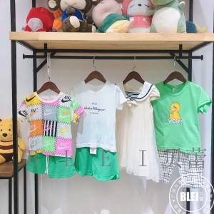 安木西尼 几米广州品牌童装折扣尾货走份批发 网红直播童装货源