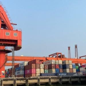 走海运从济宁汶上县到南宁横县集装箱内贸物流
