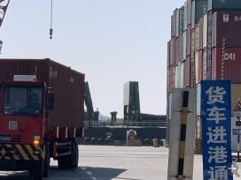 从温州到海口灵山海运一个大柜装箱包走船运费要几多钱
