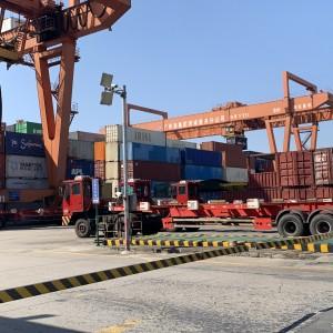 厦门翔安提货发石材到海口美兰走集装箱海运运输到门
