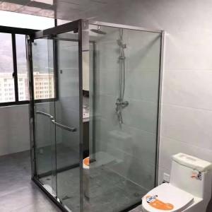 北京一字型浴屏淋浴房开启多彩生活 家居式简易淋浴房卫浴设施