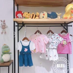 广州品牌童装批发基地 上新爱居兔夏品牌童装折扣尾货批发