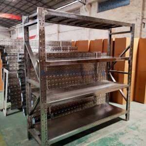 佛山实验室不锈钢货架定制五金货架304钢置物架工厂批发