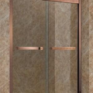 大鹏新区不锈钢淋浴房非标定制 精装公寓一体式淋浴房卫浴定制