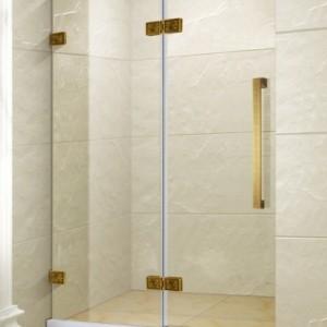 龙岗大鹏简易淋浴房家居安装 民宿一字型淋浴房卫浴定制