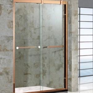 龙岗区钢化玻璃淋浴房来电订购 旅馆扇形淋浴房卫浴定制