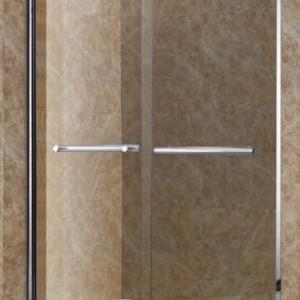 宝安区一字型淋浴房家居安装 宾馆铝合金淋浴房卫浴定制