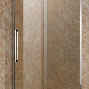 汕尾定制 淋浴房一字型设计 简易洗澡间 五金配套