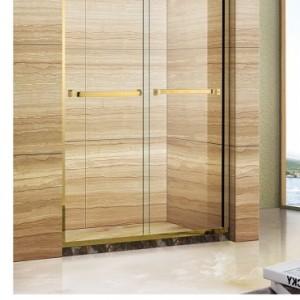 深圳简易淋浴房华丽雅卫浴 民宿一字型淋浴房安装出售