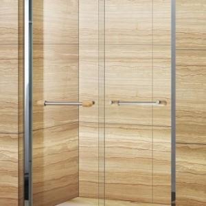 云浮卫浴淋浴房独立空间 T字型整体简易淋浴隔断安装设计