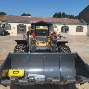 铁矿矿山卧式铲车 加重岩石斗小型装载机支持定做