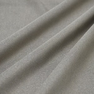 源头厂家供应银纤维防辐射针织面料
