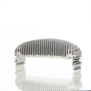 唐山铲齿加工厂家定做 6063-T4铲齿散热器量大免模具费