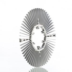 邢台纺织机型材按图开模定制 6063风力发电型材氟碳喷涂