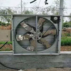 镀锌板负压风机工业排风扇大功率力静音排气扇换气扇大棚养殖场