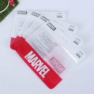 厂家定制内衣内裤包装袋自封拉链袋 服装塑料包装袋pe透明塑料