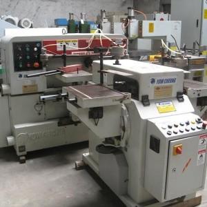 龙岗二手木工机械单面压刨机回收二手马氏6排钻回收