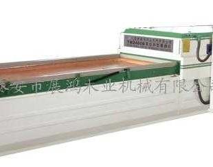 负压高光膜异形覆膜机 PVC真空覆膜机 线条包覆机 双面实木 2009