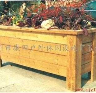 木制花箱 花盆