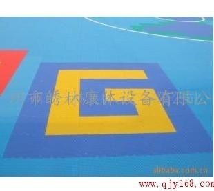 供应篮球场 网球场 悬浮拼装地板