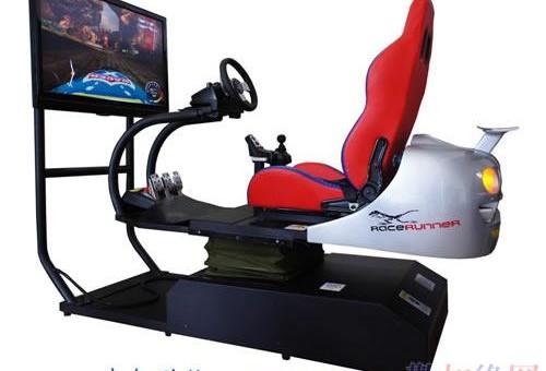 高仿真4D动感汽车模拟器 大型赛车游戏机