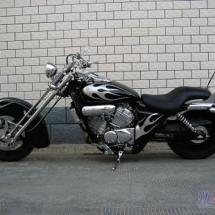 本田摩托车报价95年本田马格纳250超级改装
