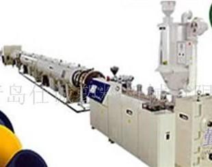 UPVC实壁管材生产线供应商 青岛仕诚塑料机械大口径管材机械
