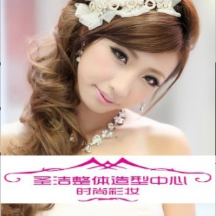 长沙新娘跟妆长沙新娘化妆最美新娘供应商 圣洁整体造型中心图片