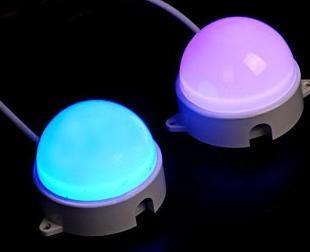 LED外控七彩点光源