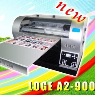 推荐深龙杰专在皮革上印制图案的皮革UV打印花机