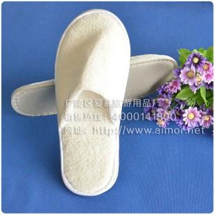 宾馆珊瑚绒拖鞋定做酒店客房用品非一次性拖鞋可洗型厚底防滑