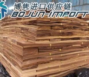 深圳木皮进口报关代理清关流程费用手续