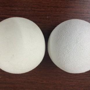 大量弹力光面球橡胶球回软球针织水洗球