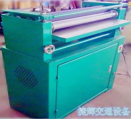 【捷辉天然车牌】植物加工制作YY60设备除臭车牌交通油印液图片