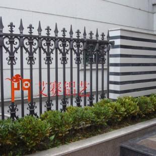 庭院别墅大门 铝艺围栏供应商 湖南艾赛门业