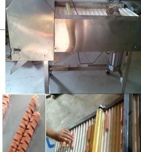 烤面筋串对切机