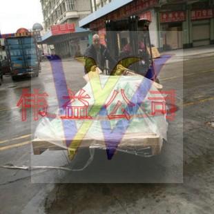 德国二手旧哈模工业机器人进口到深圳需要哪些费用