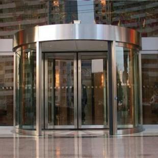 临朐嘉亿建材已认证、吉林旋转门、绕柱旋转门