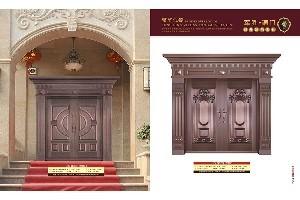 供应海南价格合理的三亚铜门-广西别墅铜门
