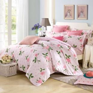 床上用品四件套全棉活性印花三四件套厂家单床单被套批发