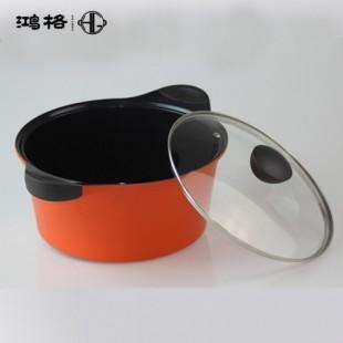彩色锅身两用陶瓷涂层不粘锅汤锅丨广州免费代理厂家货源