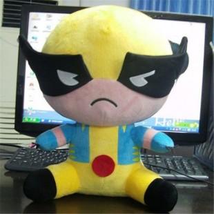 供应定做玩具娃娃复仇者联盟毛绒玩具美国队长钢铁侠蝙蝠侠公仔