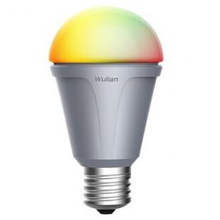 6W彩色球泡灯02型04型物联传感智能家居照明系统
